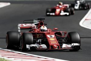 Formula 1, Ferrari show in Ungheria: prima fila tutta Rossa con Vettel in Pole e Raikkonen 2^