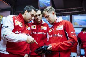 Vettel, saluti e inizi: anima bambina, cuore rosso