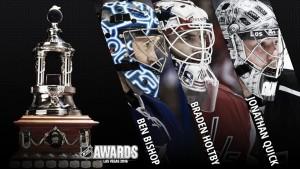 Bishop, Holtby y Quick finalistas del trofeo Vezina