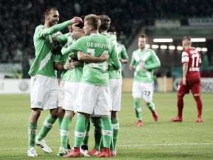 VfL Wolfsburg 1-0 SC Freiburg: die Wölfe edge into last four