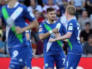 Freiburg 1-2 Wolfsburg: Caliguri brace inspires Wolves to victory