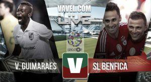 Resultado Vitória Guimarães vs Benfica en la Liga Portuguesa 2015 (0-0)