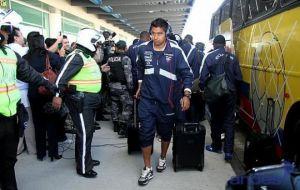 Nómina de los jugadores de Ecuador que viajan a Colombia