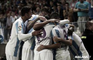 El Málaga buscará conseguir la segunda victoria consecutiva