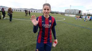 """Vicky Losada: """"Quiero hacer algo importante en la Liga de Campeones"""""""