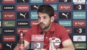 """Víctor Sánchez: """"Si perdemos en Granada parecerá que no hay equipo y que volveremos a sufrir"""""""