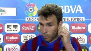 "Víctor Casadesús: ""A raíz del gol hemos hecho todo mal"""