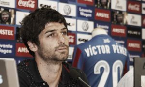 """Víctor Pérez: """"La oferta más estable era la del Levante"""""""
