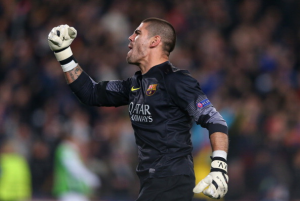Free Agent Victor Valdes set to train with Manchester United