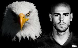 Víctor Valdés, el retorno del águila