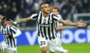 Allegri insists Vidal is not leaving Juventus