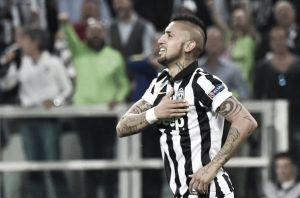 Juve a fatica, Monaco gagliardo: decide Vidal dal dischetto