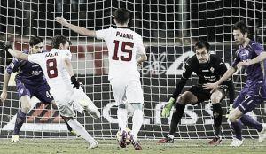 Live Fiorentina - Roma, diretta risultato partita Europa League (1-1)