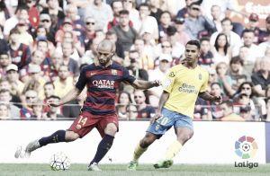 Jonathan Viera hace historia en el Camp Nou