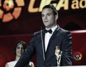 Viguera, mejor delantero de la Liga Adelante; Valverde, sin premio