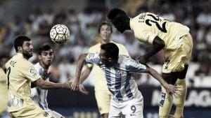 El Málaga sigue sin encontrar el gol
