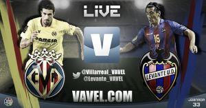Villarreal vs Levante en vivo y en directo online