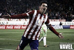 """Villa: """"Me alegro por Xavi, está contento"""""""