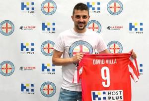 David Villa évoluera en Australie