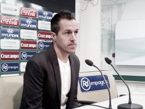 """Pablo Villa: """"Estamos obligados a ganar"""""""