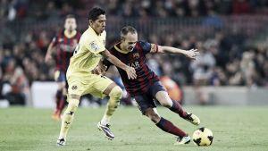 Trayectoria de los Villarreal - Barcelona