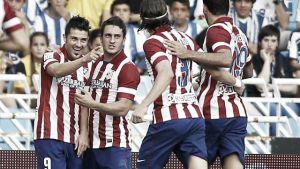 David Villa et Thibaut Courtois donnent la victoire à l'Atlético