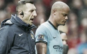 Kompany faces injury setback