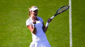 WTA Eastbourne: Vinci subito fuori, Makarova si impone in rimonta