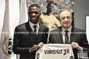"""Vinicius Júnior: """"Quiero ser uno de los mejores en el Madrid, no mejor que Neymar"""""""
