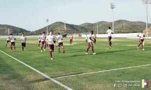 La Vinotinto sub-20 se prepara para el choque amistoso ante Honduras