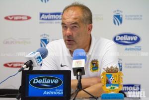 Josip Visnjic: ''Con la racha que veníamos el punto es bueno''