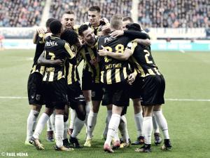 El Vitesse golea y se sitúa como tercero en la Eredivisie
