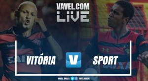 Resultado Vitória x Sport AO VIVO hoje no Campeonato Brasileiro 2018 (1-0)