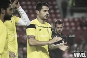 """Vitolo: """"Hay que ir a por el partido desde el minuto uno"""""""