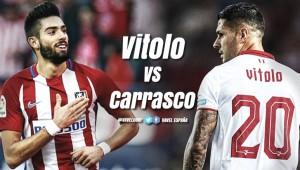 Vitolo VS Carrasco: El problema de Simeone