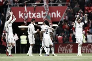 Casemiro marca, Real Madrid vence Bilbao e se mantém na liderança do Espanhol