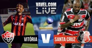 Resultado Vitória x Santa Cruz no Campeonato Brasileiro 2016 (2-2)