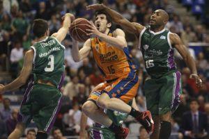 Los exteriores españoles de Valencia Basket, de récord