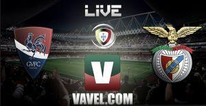 Resultado Gil Vicente - Benfica en la Liga Portuguesa 2015 (0-5)