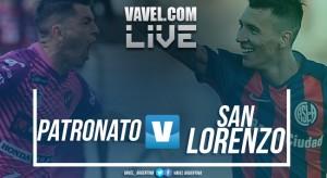 Patronato vs San Lorenzo en vivo y en directo online en Superliga 2018