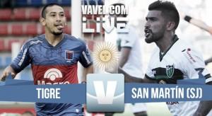 Tigre vs San Martín (SJ) en vivo por Torneo de la Independencia (1-1)