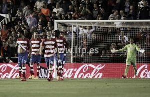 Otro récord negativo como visitante para el Granada