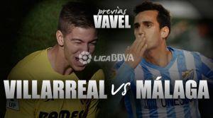Villarreal - Málaga: duelo con sabor europeo