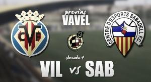 Villarreal 'B' - CE Sabadell: Mismo objetivo, distinta situación