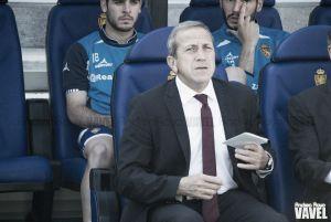 """Víctor Muñoz: """"Han jugado algunos jugadores que serán protagonistas la próxima temporada"""""""