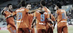 Un Valencia de Champions baila a un Getafe sin alma, sin fútbol e ideas