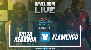 Resultado Volta Redonda x Flamengo no Campeonato Carioca 2018 (0-2)