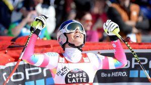 Sci Alpino, finali Meribel - Super G: immensa Vonn, che duello Fenninger - Maze