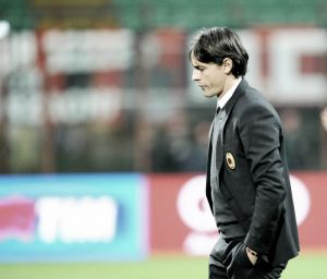 """Milan, Inzaghi: """"Col Palermo incidente di percorso, pronti per la Sampdoria"""""""