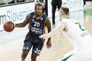 Valencia Basket - Olimpija Ljubljana: pelea por la segunda plaza